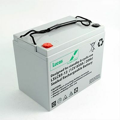 Lucas 85AH Battery for Mobility Scooter, Wheelchair Golf Buggy (75ah)