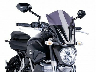 PUIG Touring Screen for Yamaha MT-07 (420093F) -Dark Smoke