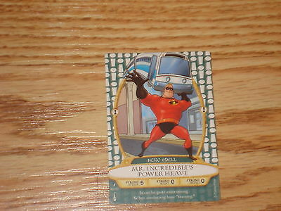 Disney Sorcerers of the Magic Kingdom lightning card # 68 Mr. Incredible's Power