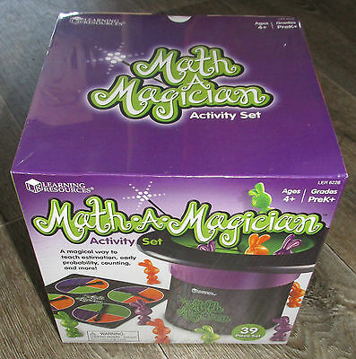 Math A Magician Activity Set Learning Resources Age 4+ Maths For kids