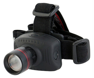 3W powerful zoom leds headlamp adjustable flashing caving camping head torch