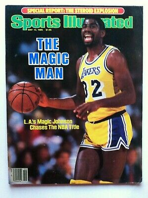293fac9b6b1 1979 LOS ANGELES LAKERS 1st MAGIC JOHNSON ROOKIE 11-19 Sports Illustrated