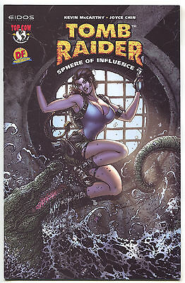 Tomb Raider Sphere Of Influence 1 B Image 2004 NM Dynamic Forces DF Variant
