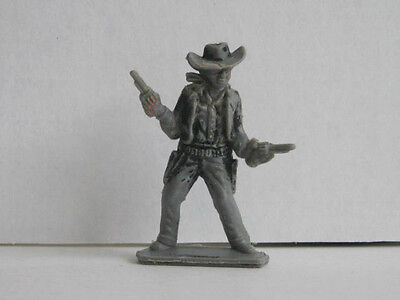 1 x LONE STAR COWBOY 1960's PLASTIC TOY SOLDIER  .... HARVEY SERIES.
