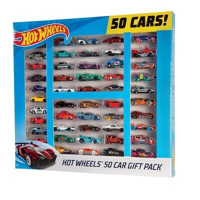 NEW Mattel Hot Wheels Toy Cars Collection of 50 Boxed Set Pack Birthday Gift