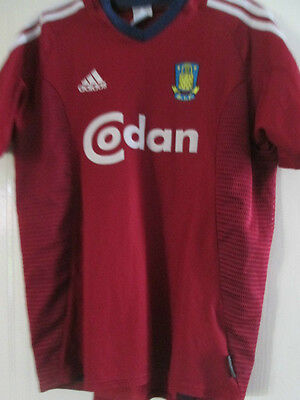 Brondby 2003-2004 Away Football Shirt Size Adult Youths /39105