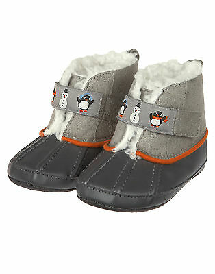 33313bec4493 NWT GYMBOREE PENGUIN Pals Boots Booties Crib Shoes Size 03 Baby Boy ...