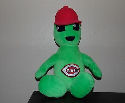UFO Roswell Area 51 Green Alien  Cincinnati Reds Baseball Plush