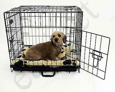Dog Crates with Beds Cages Puppy Small Medium Large X Large Pet Carrier Training