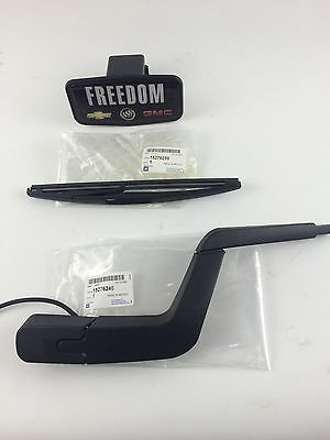 2007-2012 Gmc Acadia/ Saturn Outlook Rear Wiper Arm And Blade W/spray Tube