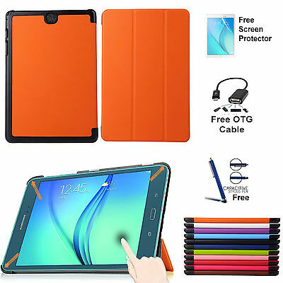 Case Cover Samsung Galaxy Tab A Slim Smart Magnetic Cover TAB A 9.7 T550/P550