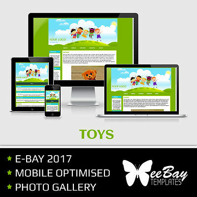 eBay Listing Template Professional Auction Design Mobile Friendly HTML 2017 *2
