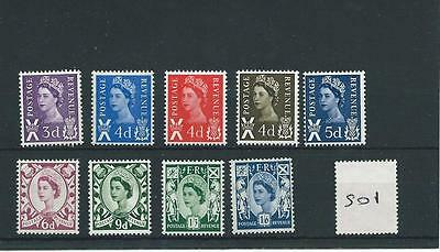 wbc. - GB - REGIONALS - S01 - SCOTLAND - PRE-DECIMAL  - UNMOUNTED MINT