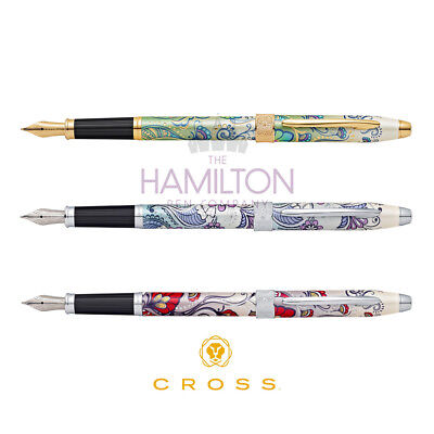 CROSS BOTANICA FOUNTAIN PEN - available in 5 beautiful floral finishes