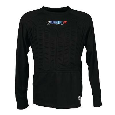 CoolShirt Systems Cooling Long Sleeve Undershirt Flame-Retardant SFI 3.3
