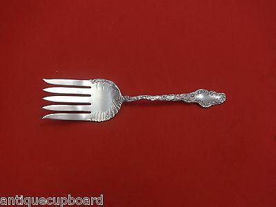 Watteau by Durgin Sterling Silver Fish Serving Fork 5-Tine 8""
