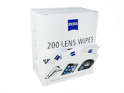 ZEISS Lens Wipes - Pack of 200  / free worldwide shipping