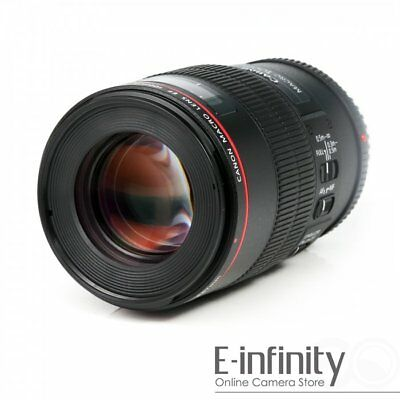 BRAND NEW Canon EF 100mm f/2.8 L Macro IS USM Lens for EOS DSLR EXPRESS