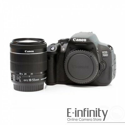 Canon Rebel T5i / EOS 700D / Kiss x7 Body Kit With 18-55mm f/3.5-5.6 IS STM*gift
