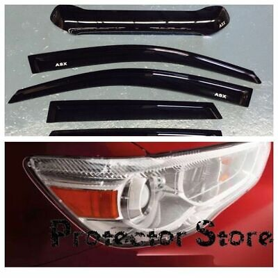 Mitsubishi ASX 2012-2016 Bonnet Protector, Weather Shields & Light covers
