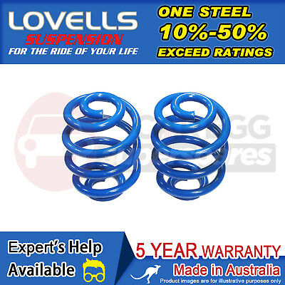 Rear Standard Height Coil Springs For Holden Commodore VT VX VY VZ Wagon 97-08