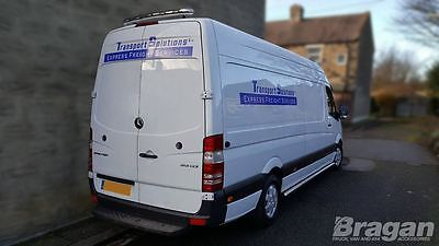 Volkswagan VW Crafter Stainless Steel Rear Roof Light Bar + LEDS
