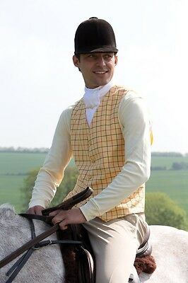 Equetech Mens Classic Waistcoat 3 Colours Sizes 38 - 46 + Worldwide Shipping