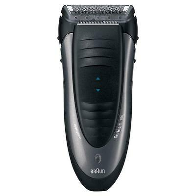 Braun 190S Rechargeable Cordless NiMh Mens Handheld Electric Shaver Black - New