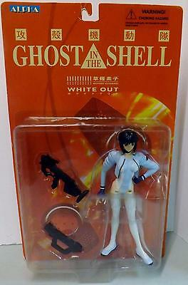 """Motoko Kusanagi Ghost In The Shell White Out 7"""" Action Figure Sealed NIB"""