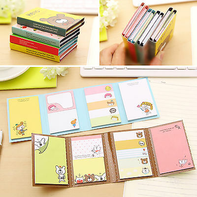 High Small Animal Sticker Post Bookmark Memo Sticky Notes Stationery Cute New