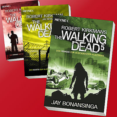 im Set: ROBERT KIRKMAN | THE WALKING DEAD Band 1 - 8 | Jay Bonansinga (Buch)