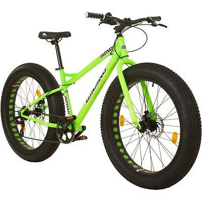 Fatbike 26 Inch Mountain Bike MTB Galano Fatman Hardtail 4.0 Fats Tire Bike
