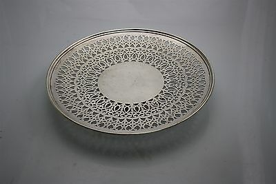 Spectacular Vintage Silver Plated Service Tray 353gr