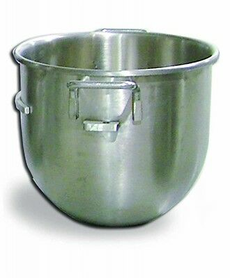 20 Qt Replacement Stainless Steel Bowl for Hobart Mixer
