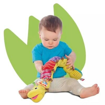 60cm Baby Kid Child New Music Rattle Inchworm Soft Crib Stroller Playmat Toy 0+