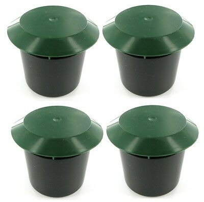 4 x BEER SLUG SNAIL SAFE SIMPLE EASY TRAP TRAPS NO CHEMICALS GARDEN SOIL GRASS