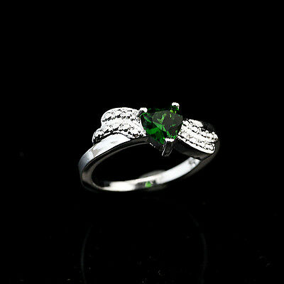925 Solid Sterling Silver Plated Women/Men NEW Fashion Ring Gift SIZE 8 HR473