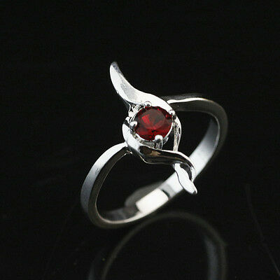 925 Solid Sterling Silver Plated Women/Men NEW Fashion Ring Gift SIZE 8 HR487