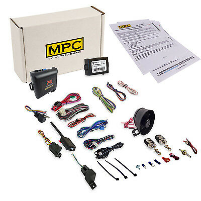 Vehicle Security & Remote Starter Kit for Toyota Vehicles Includes Bypass
