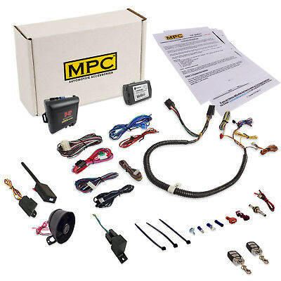 Complete Remote Start & Alarm Combo w/ Plug In Bypass for Chyrsler Dodge Jeep