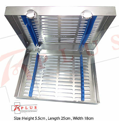 Dental Sterilization Cassettes for 13 Instruments Special Size High Quality CE