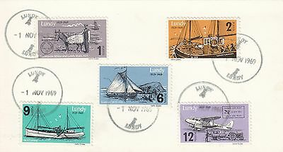 (46146) GB Lundy FDC Post 40 Years  - 1 November 1969