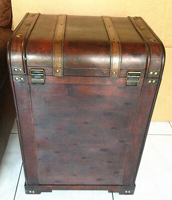 3-Drawer Replica Vintage-style wooden trunk (HF 019-A)