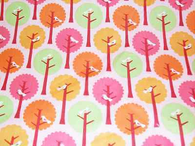Summer Song 100% Cotton PUL fabric for nappies & wetbags