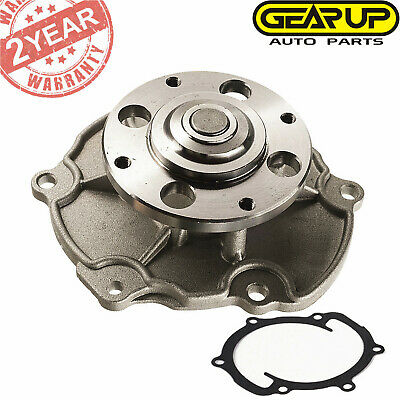 KEC Engine Water Pump For Cadillac CTS SRX XTS GMC Canyon Saab 9-3 3.6L AW5103