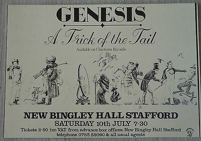 Carte Postale Postcard - GENESIS - A Trick Of The Tail -