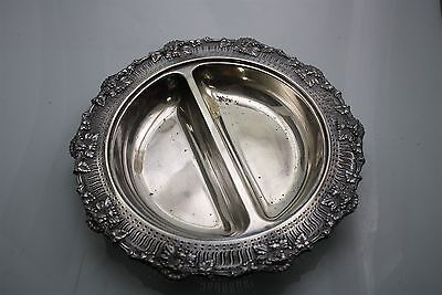 Spectacular Vintage Silver Plated Service Tray 1086gr