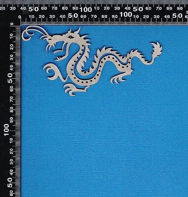 Chipboard A2Z Scraplets Chinese Dragon Small Shape