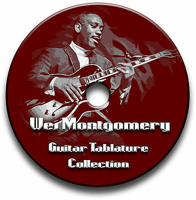 Wes Montgomery Jazz Guitar Tabs Tablature Song Book Software Collection Cd
