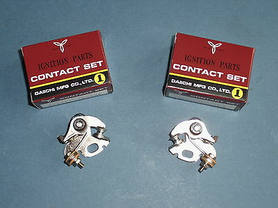 HONDA CB 500 CB550 CB 750 Four K0 K1 - K7 F1 F2 Zündkontakte Set contact points